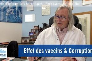 Effet des vaccins & Corruption
