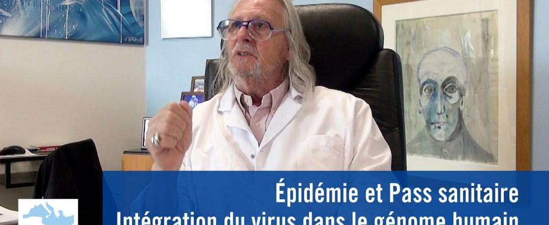 Épidémie et Pass sanitaire, Intégration du virus dans le génome humain