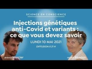 Injections génétiques anti-Covid et variants : ce que vous devez savoir [Rediff haute définition]