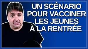 On travail sur un scénario pour vacciner les jeunes à la rentrée en septembre 2021. Dit André Paré.