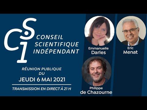 Réunion publique n°5 du Conseil scientifique indépendant (CSI) du 06/05/2021