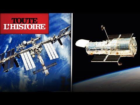 L'ISS ET HUBBLE : la collaboration dans l'Espace   Documentaire Toute l'Histoire