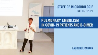 Pulmonary embolism in COVID-19 patients and D-Dimer