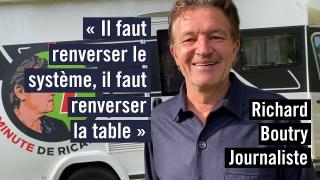 Richard Boutry, l'électron libre du journalisme français