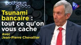 Tsunami bancaire : tout ce qu'on vous cache – Politique & Eco avec Jean-Pierre Chevallier – TVL