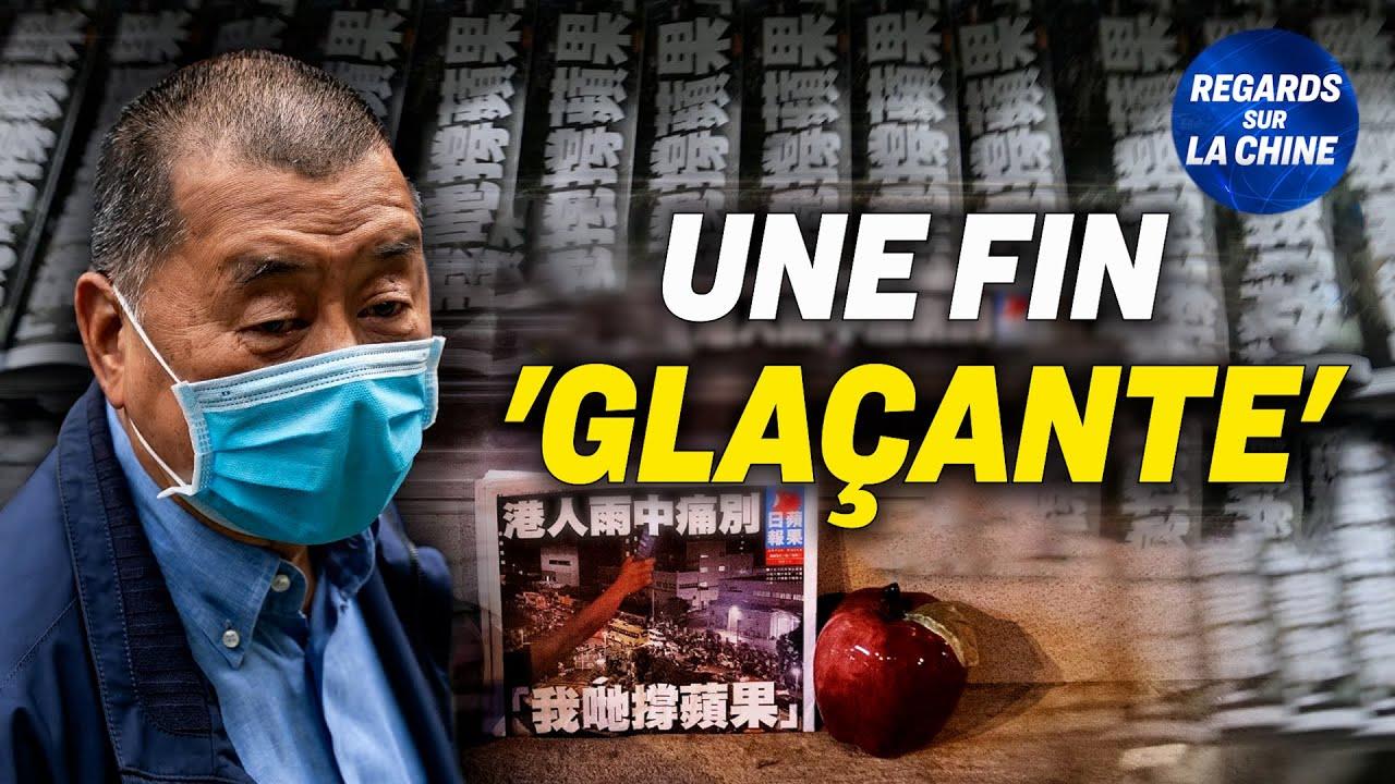 Un journal de Hong Kong contraint de fermer ses portes par les autorités ; Inondations en Chine