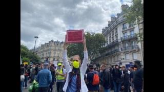 Manifestation anti-pass sanitaire, Paris