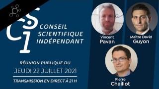 Teaser Réunion publique n°15 du CSI (Conseil scientifique indépendant)