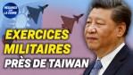 La Chine organise des exercices militaires près de Taïwan ; La Chine et les Talibans : analyse