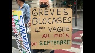 Manifestation anti-pass sanitaire – Gilets Jaunes, 28 Août à Paris