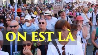Peuple français maltraité |  Manifestations anti-pass à Paris, 14 août 2021
