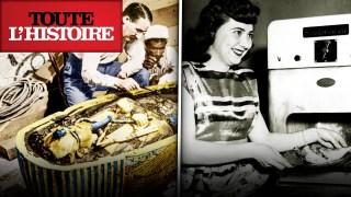 TOUTANKHAMON ET LE MICRO-ONDE : deux découvertes accidentelles | Documentaire Toute l'Histoire