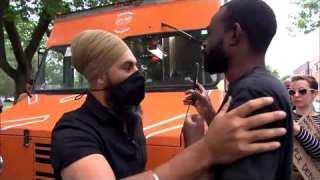 ActuQc : Francois Amalega confronte Jagmeet Singh du Parti démocratique (NPD)