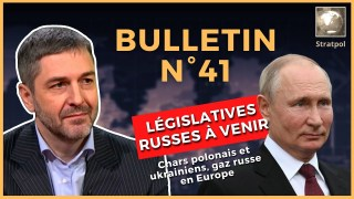Bulletin N°41. Législatives en Russie, Gazprom, Biden-Zelenski, Mégalopole de Vladivostok.01.09.2021