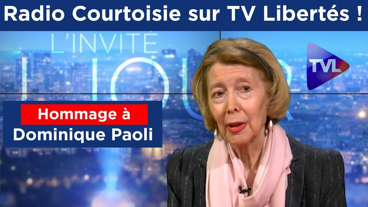 Hommage à Dominique Paoli, présidente de Radio Courtoisie