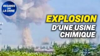Une usine chimique liée à l'armée chinoise explose en Chine ; Chine : une nouvelle loi maritime