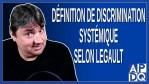 Définition de Discrimination systémique pour Legault