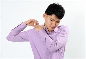 肩甲骨 ゴリゴリ
