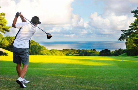 ゴルフ 肩甲骨