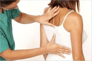 肩甲骨の痛み
