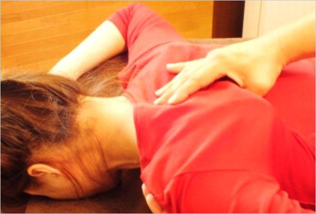 肩甲骨のコリ