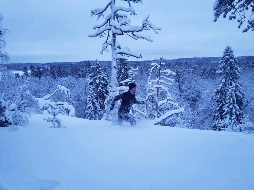 vinterlöpning löpning