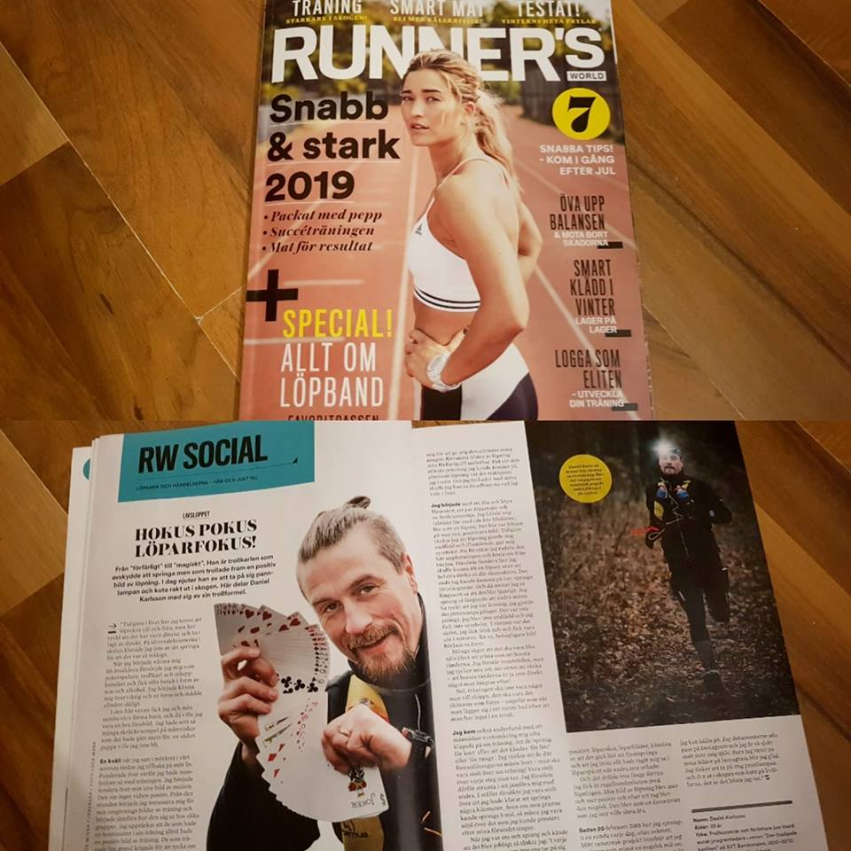 Intervju i Runner's World