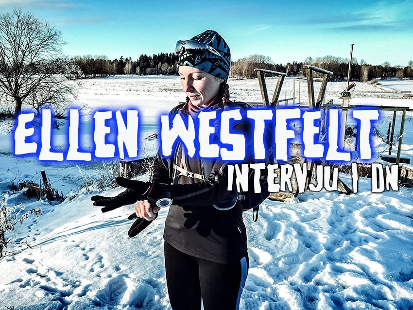 Artikel i DN om Ellen Westfelts runstreak