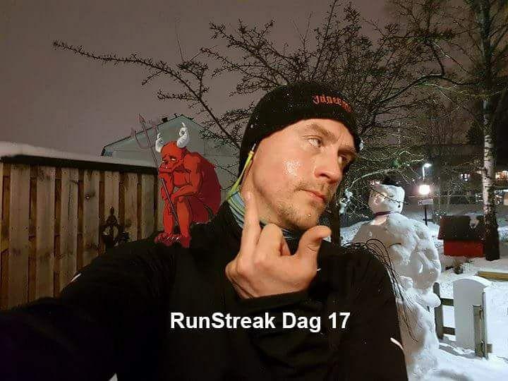 Runstreak träningstrolleri Daniel Karlsson
