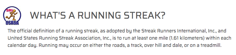 Runstreak international