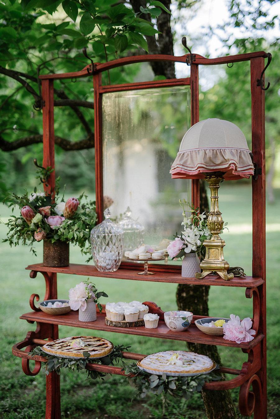 mesa dulce retro
