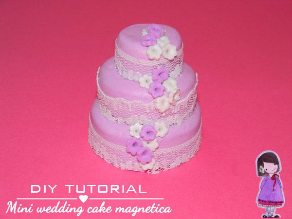 tutorial pastel de bodas fimo cernit