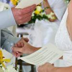votos de boda. votos matrimoniales