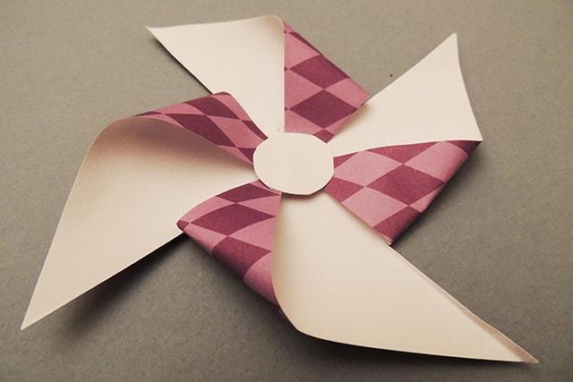 molinillo de papel
