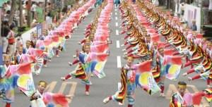 高知よさこい祭り,交通規制,駐車場,四国の三大祭り,前夜祭,本祭,後夜祭,よさこい