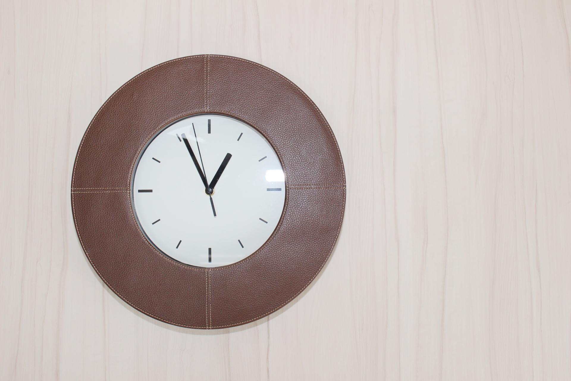 賃貸 壁掛け 掛け時計