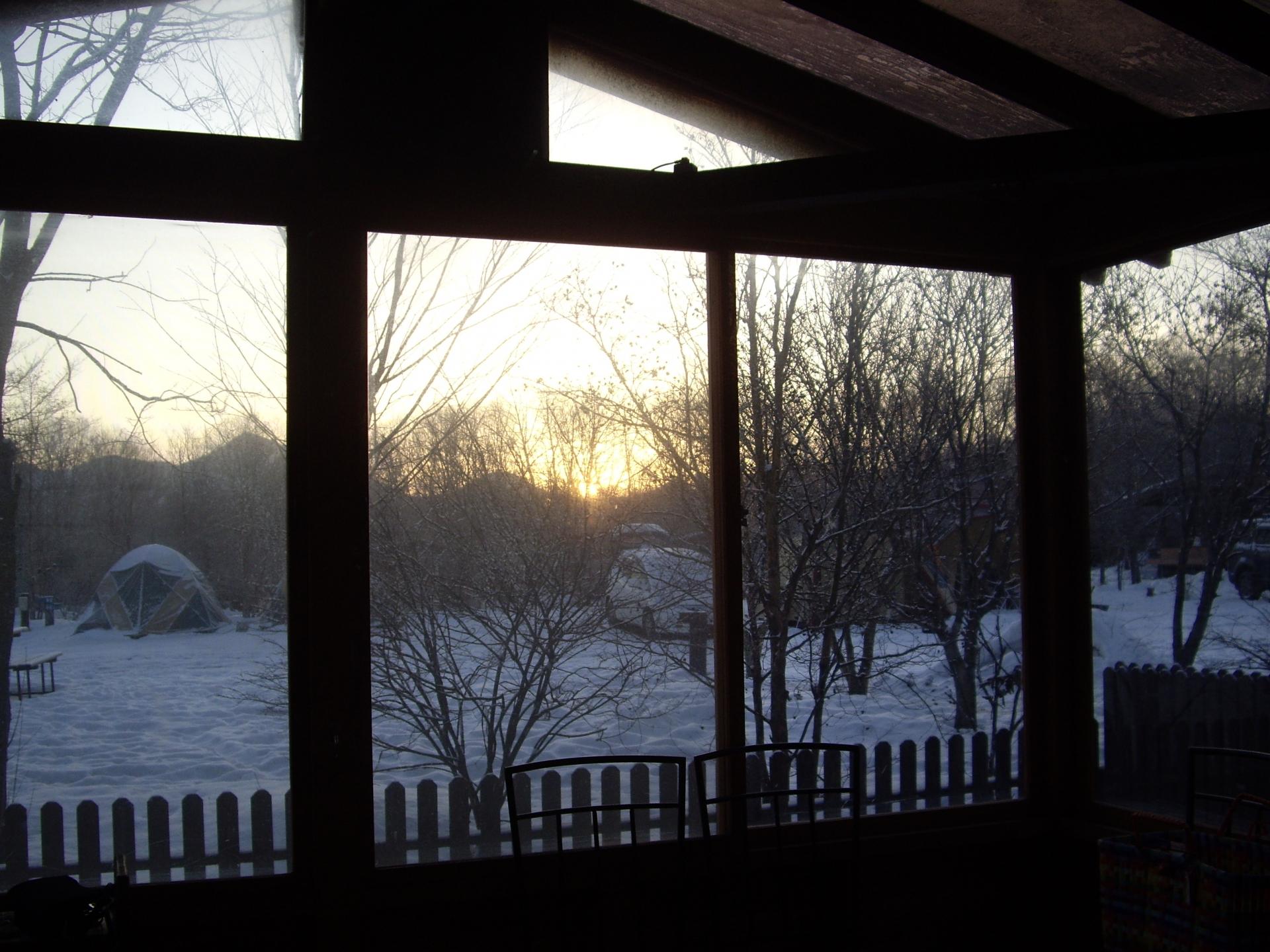 冬 キャンプ 暖房