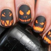 Uñas para halloween 2018 que quedan geniales para la ocasion