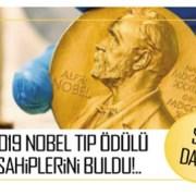 SON DAKİKA: 2019 Nobel Tıp Ödülü sahiplerini buldu