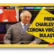 Prens Charles'a corona virüs bulaştı
