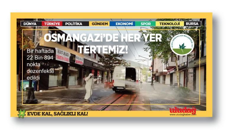 Osmangazi'de Her Yer Tertemiz