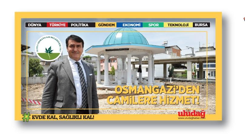 Yeşilyurt Camii'ne Osmangazi desteği…