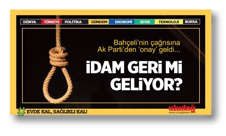 AK Parti'den idam cezasına destek!