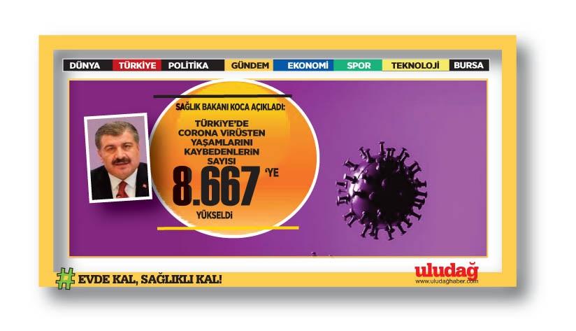 Bakan Koca son 24 saatin vaka ve ölüm sayılarını açıkladı