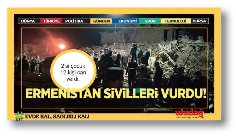 Ermenistan, Azerbaycan'ın Gence ve Mingeçevir kentlerine füze saldırısı düzenledi: 12 can kaybı, 40 yaralı
