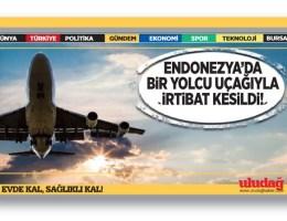Endonezya'da bir yolcu uçağıyla irtibat kesildi
