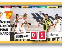 Fenerbahçe 0-Göztepe 1