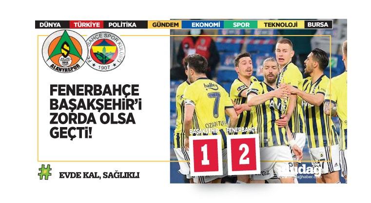Başakşehir – Fenerbahçe maç sonucu: 1-2