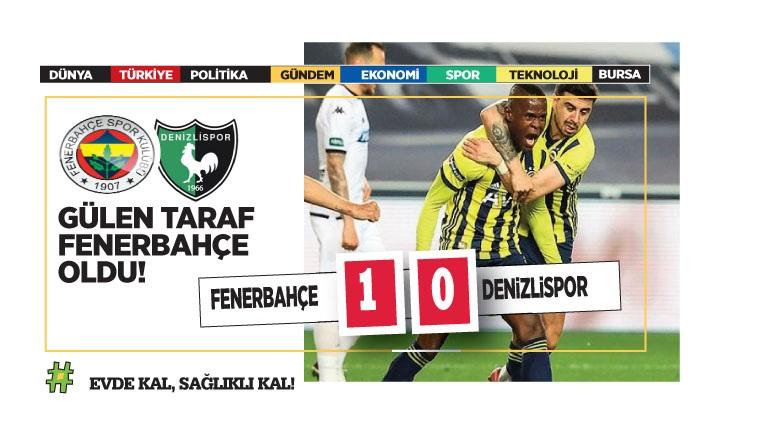 Fenerbahçe altın değerinde 3 puan aldı!