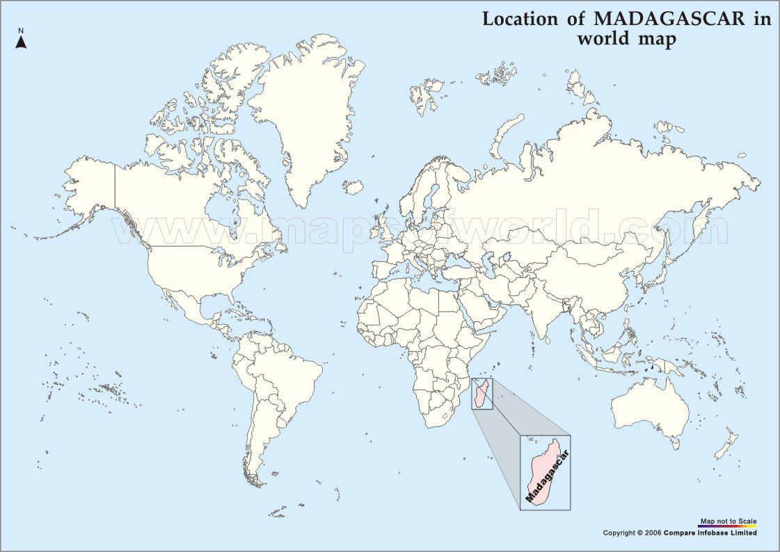 madagaskar karta Karta över Madagaskar   Upptäck Madagaskar madagaskar karta